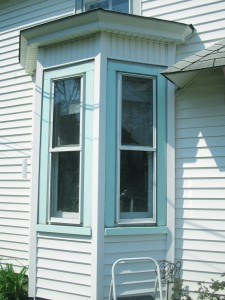 Sea Glass green, Bay Window