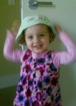Finlley Ray, Easter hat, dressing up