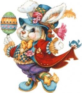 accessorized, asphalt jungle, Easter rabbit, Easter bunny, Easter Sunday