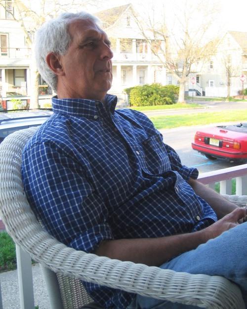 Jim Taylor, front porch