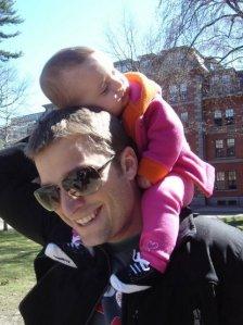 Tom Clark, Finley Ray Clark, fall day in Boston