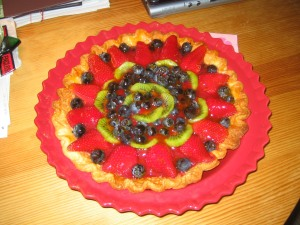 summer fruit dessert, Trish Martin