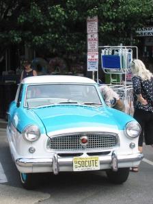 1958 Met, Nash, Metropolitan, Ocean Grove vintage car show, so cute