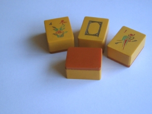 mah jongg, mah jong tiles, Four Winds, Soap, one bam