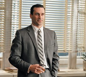 Mad Men, Don Draper, scotch, martini, cigarettes, ad man, Jon Hamm