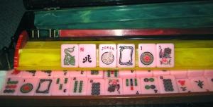 Martha Stewart Living, pink mah jong mah jonng tiles