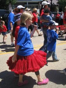 Kazoo band, 4th of July parade, Ocean Grove