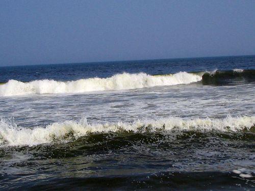 Hurricane Earl, Ocean Grove, stone jetty, waves