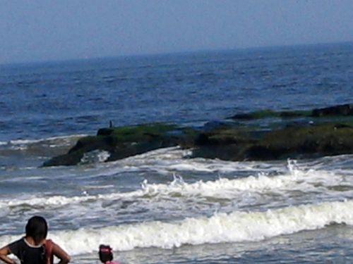 Hurricane Earl, Ocean Grove, jetty, waves