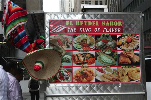 food vendor, El Reydel Sabor,