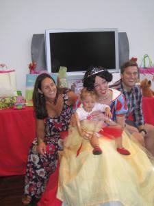Tom & Chiara Clark, Snow White, Finley Ray Clark, Finny's birthday party