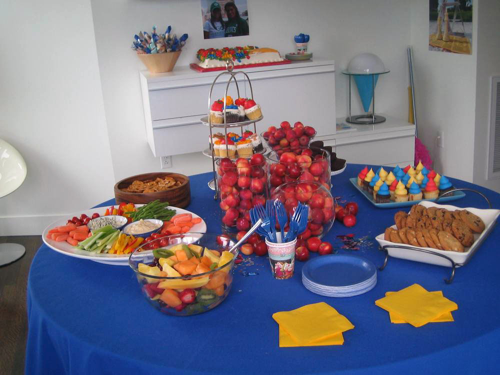 Finley Rays Birthday Party Food
