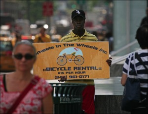 Manhattan bike rentals