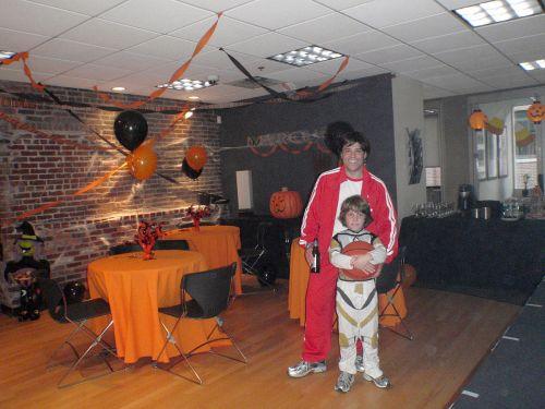 Chris Nolan, Halloween party