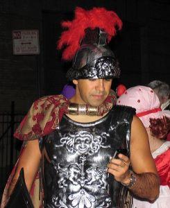 Roman gladiator, armor