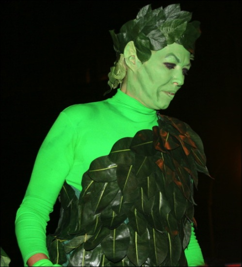 Jolly Green Giant, Greenwich Village Halloween parade