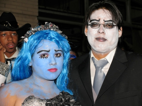 Greemwich Village Halloween parade, Murray head