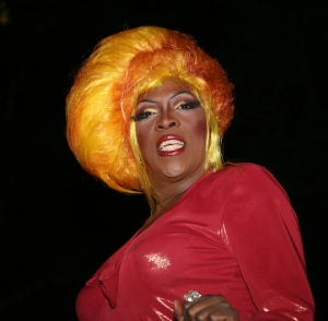 Yellow wig, Murray Head, Greenwich Village Halloween parade, diva