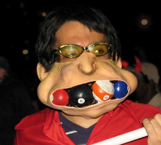 Billiard Balls In Mouth 83