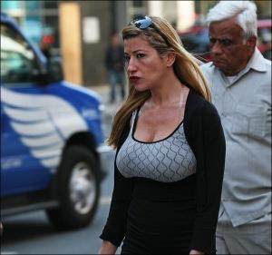 enhanced breasts, bee sting lips