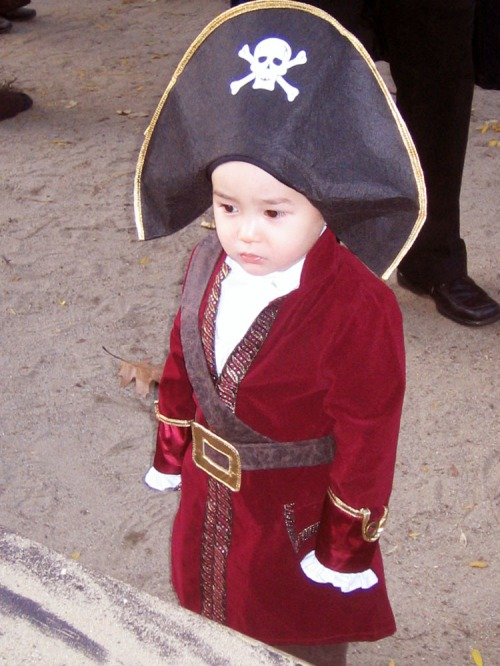 Captain Hook, halloween, Boston South End,