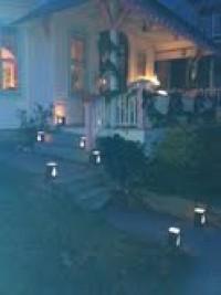 Christmas night, luminarias, Ocean Grove