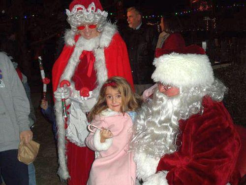 Fireman's Park, Ocean Grove, Christmas Eve