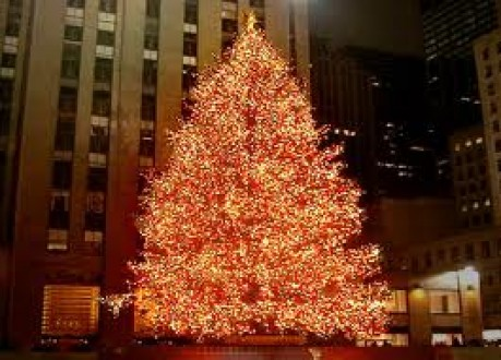 Christmas tree, Rockefeller Center