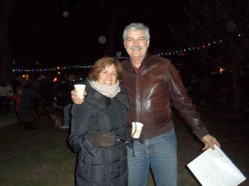 Ocean grove, Fireman's park, Christmas Eve