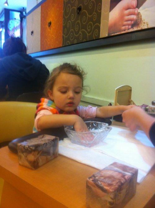 finley ray clark, Finny, mani, manicure, New York city,