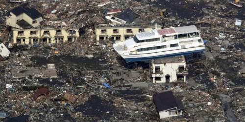 Otsuchi, Japan, ferry boat, tsunami, earthquake