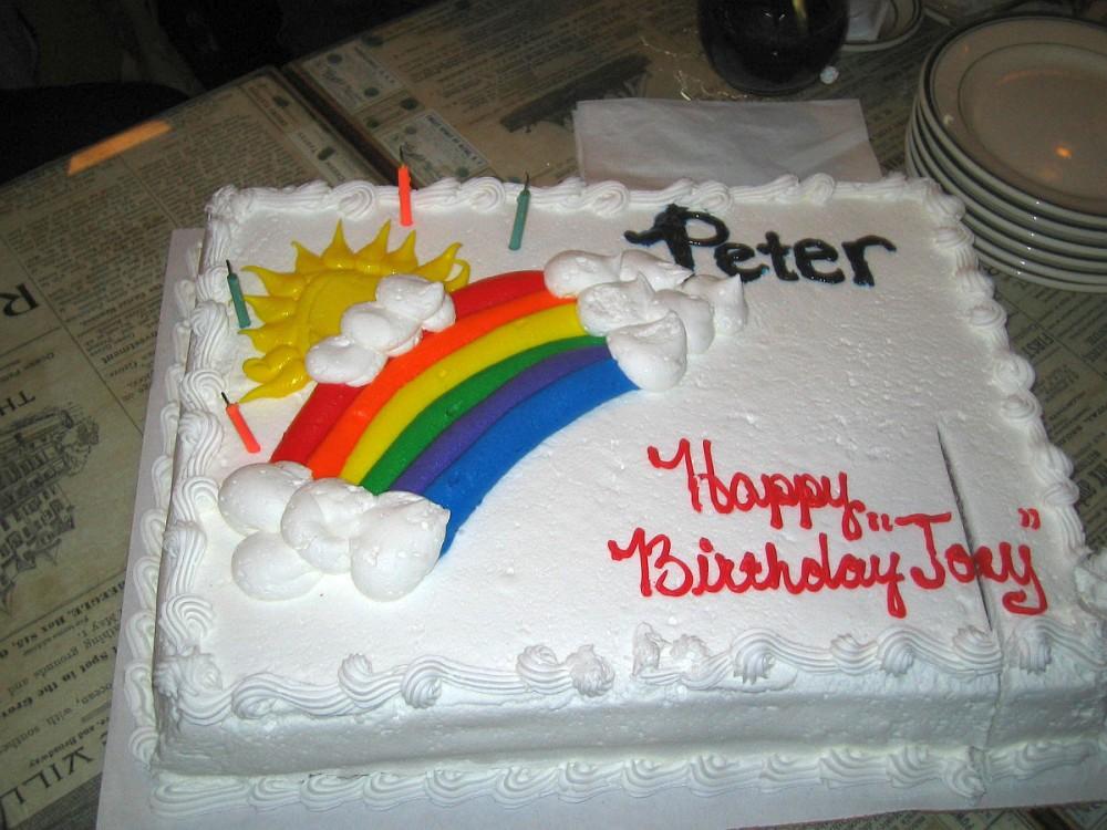 Happy Birthday, Joe Lugo, Peter, Nagle's, brunch