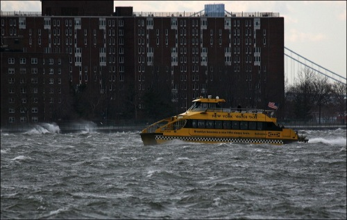 New York Waterways taxi, water taxi