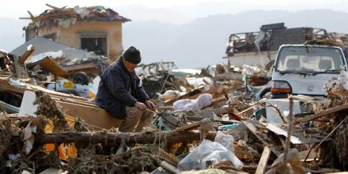 total destsruction, earthquake, tsunmami,