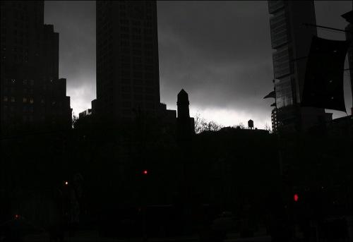 new york city, skyline, skyscrapers
