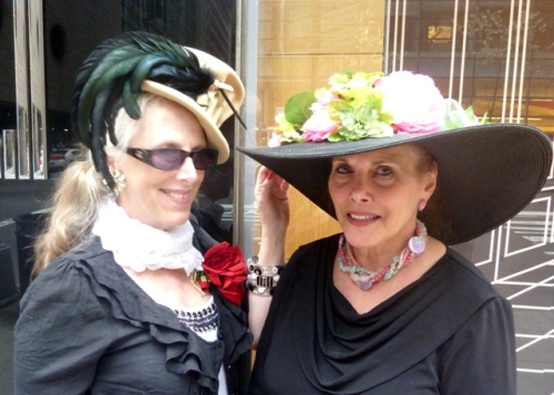 Helen Uffner, Uffner Vintage clothing, Lori Press, Easter Parade 2011, fifth avenue