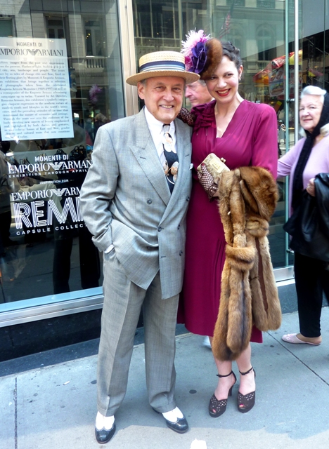 Peter Press, uffner vintage clothing, fifth avenue, Easter parade, new york easter 2011