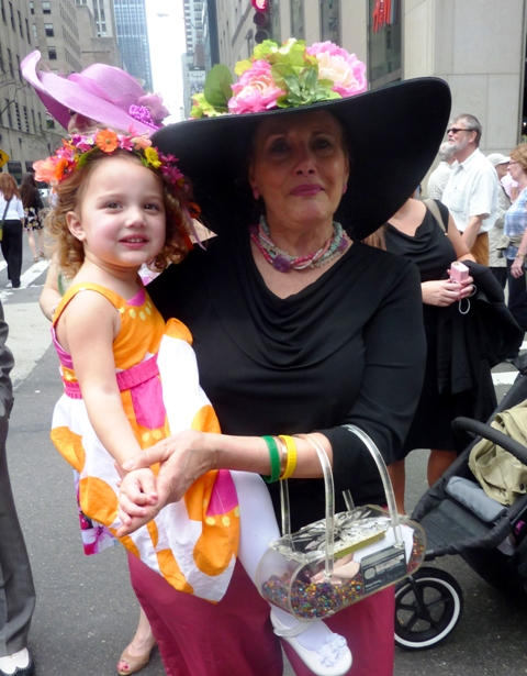 Finley Ray, Easter parade 2011, Fifth Avenue, Easter hat, easter bonnet
