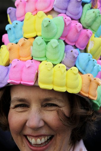 Peeps, Easter parade fifth avenue