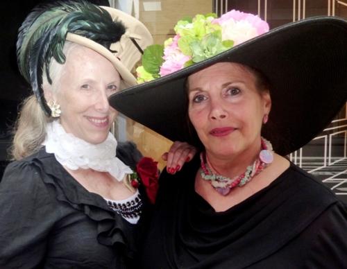 uffner vintage clothing, Helen Uffner, Lori Press, Easter parade 2011, new york city easter, fifth aveneu