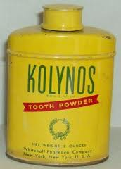 Kolynos tooth powder