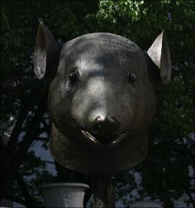 Chinese zodiac, Ai Weiwei. pulitzer fountain