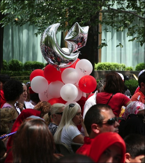 Turkish Day parade, Turkey, Turkiye, New york city, ballons
