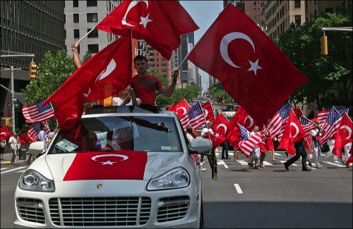 Turkish Day parade, Turkiye, Turkey, convertible