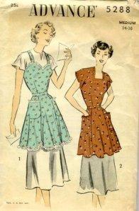McCall's pattern, cobbler apron