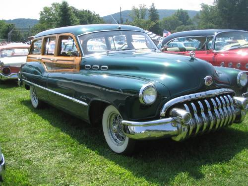 Buick Woody, Woody, station wagon