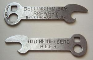 can openers, beer openers, church keys