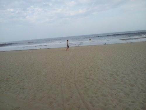 Ocean Grove, beach is closed