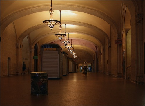 Grand Central Terminal, hurricane Irene
