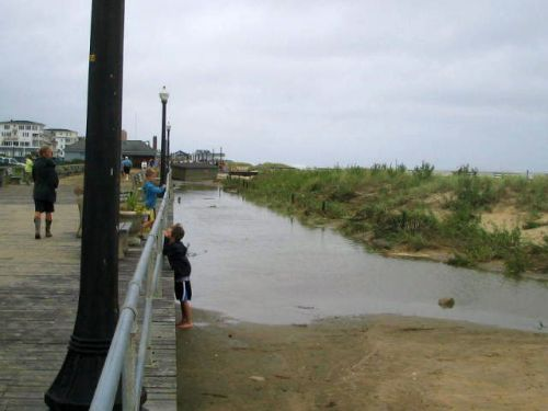 hurricane Irene, Ocean Grove nJ